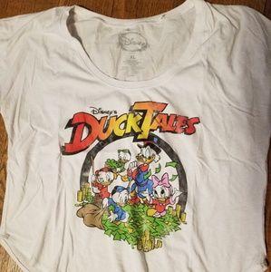 Disney Ducktales Crop Top vintage design